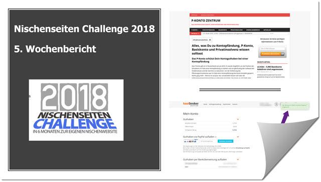 NSC 2018 - 5. Wochenbericht