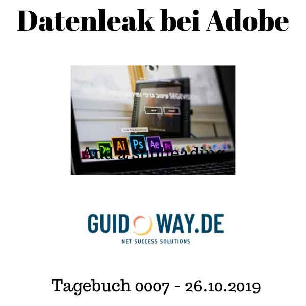 Datenleak bei Adobe