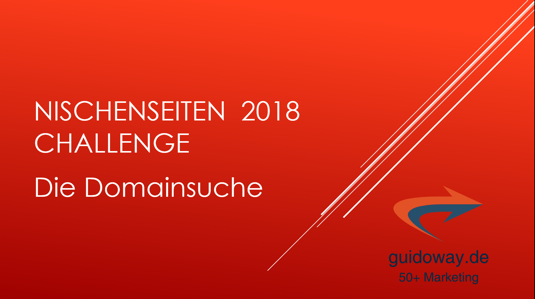 Nischenchallenge 2018 - Domainsuche