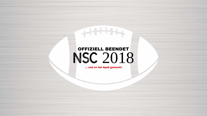 Ende der NSC 2018
