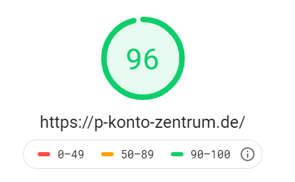 Google Speedtest P-Konto-Zentrum Desktop 09.02.2019