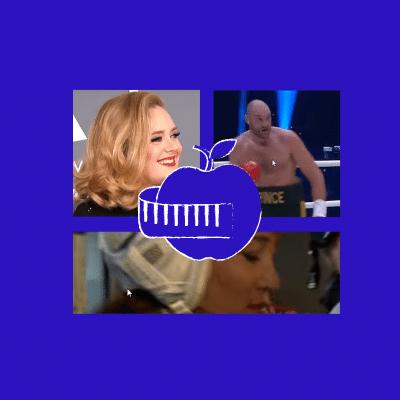 Adele-Tyson Fury - Pippa Middleton - Sirtfood
