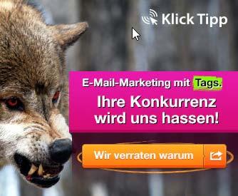 Klick Tipp Banner