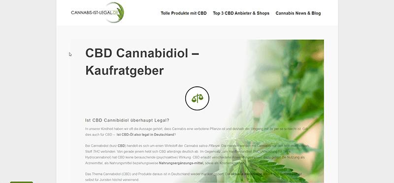 Christian - Nischenthema- Cannabis und CBD