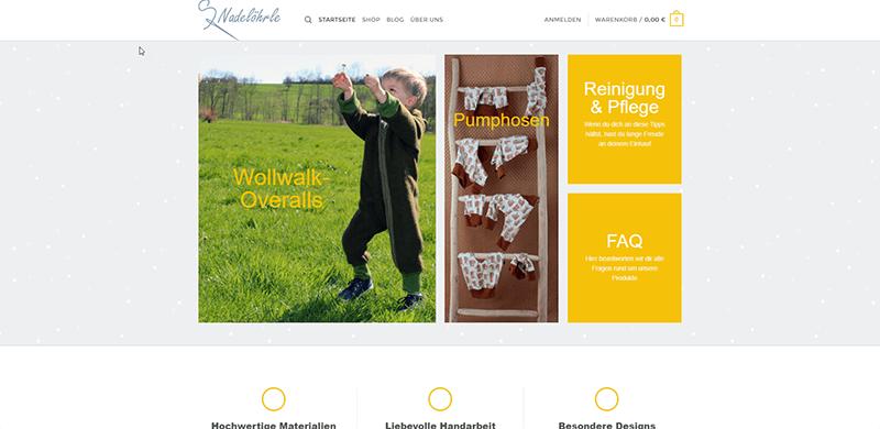Projekte der Teilnehmer-18-handgemachte-Kinderkleidung-Onlineshop