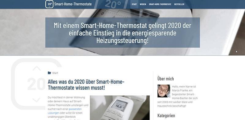 Projekte der Teilnehmer-20-Smart Home Thermostate