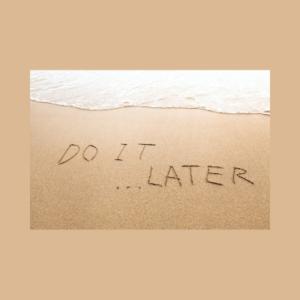 Prokrastination bei Bloggern