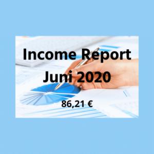Income Report Juni 2020