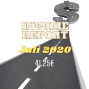 Income Report Juli 2020