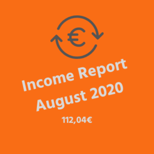 Income Report August 2020