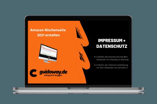 #4 Impressum und Datenschutz